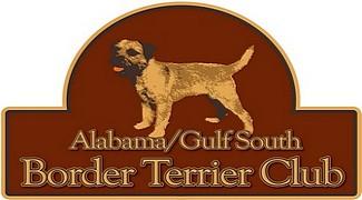 Alabama Gulf South Border Terrier Club logo